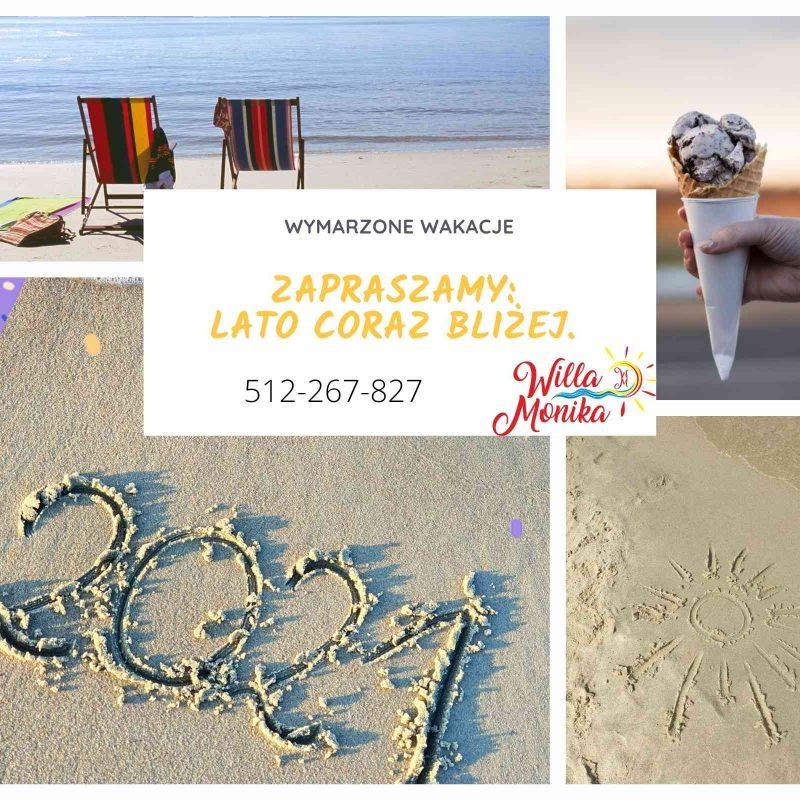Kremowy Plaża Ośrodek Podróż Kolaż Fotograficzny(1)